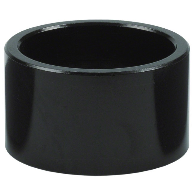 "Wheels Manufacturing Alloy Headset Spacers - 1 1/8"" x 20mm Each (Black)"