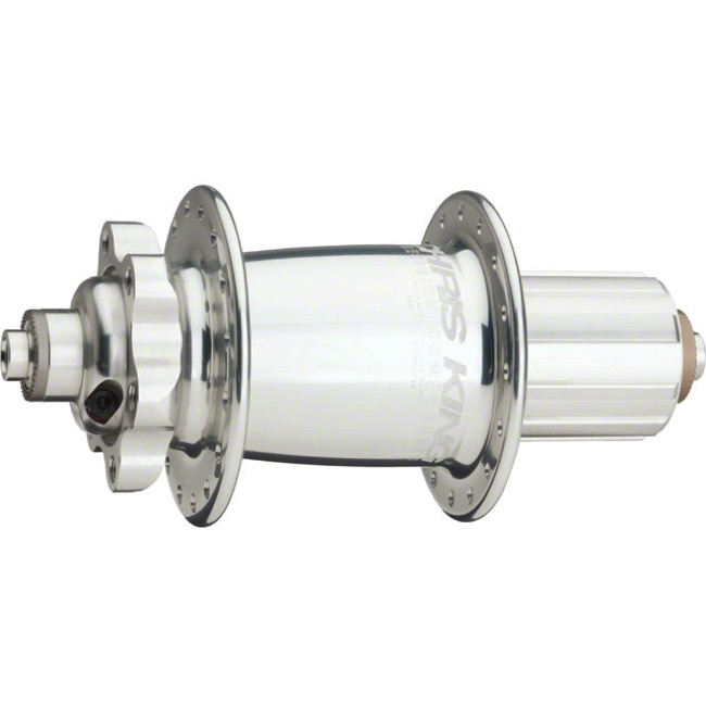 Chris King ISO Disc Rear Hub - Silver 32h x 135mm (Quick Release)