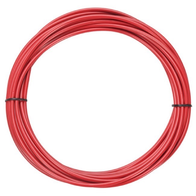 Jagwire Sport Brake Housing - 5mm x 25 Foot Roll (Red)