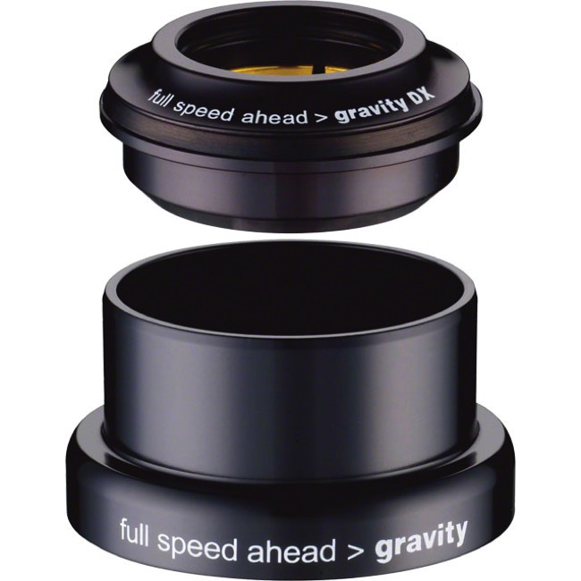 "Gravity DX ZS44/EC49 Reducer Headset - 1.5"" Reduced to 1 1/8"" (Black)"