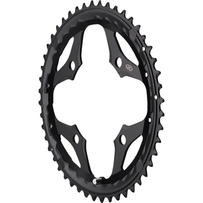 LX T671 24t 64mm 10-Speed Inner Chainring Black Shimano SLX M660-10