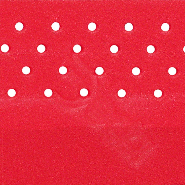 Deda Elementi Perforated Logo Tape  - Red - Red