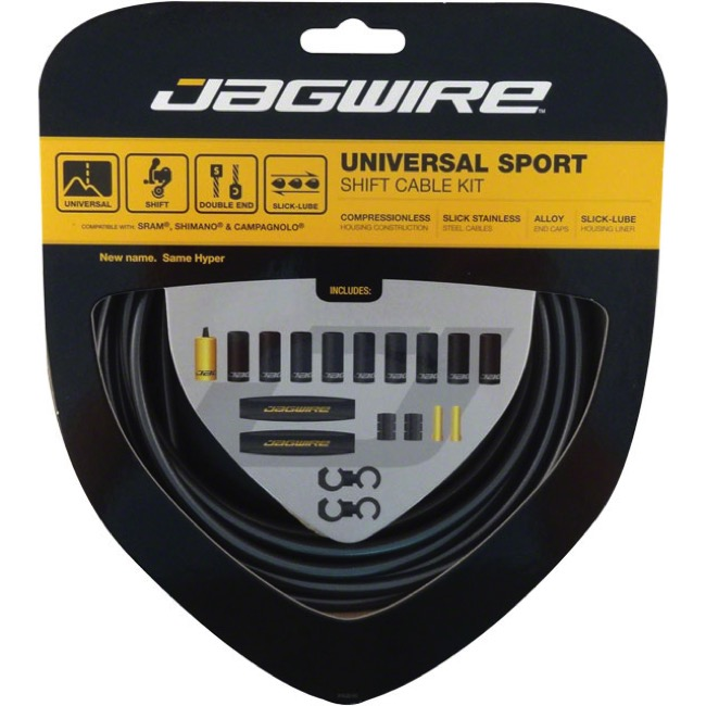 Jagwire Universal Sport Derailleur Cable/Housing - Ice Gray