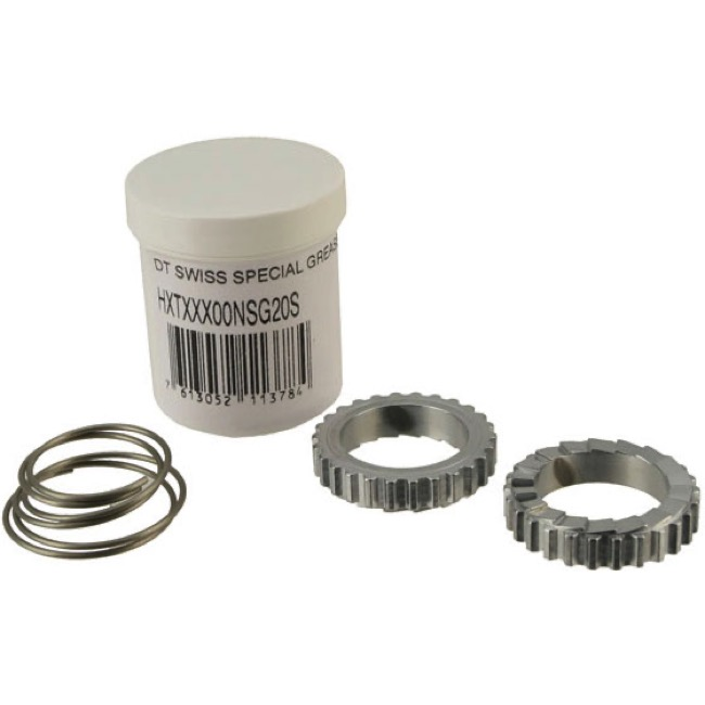 DT Swiss Hub Service Small Parts - 18 step Star Ratchet + spring kit (190/240/440-FR/00+ Hugi)