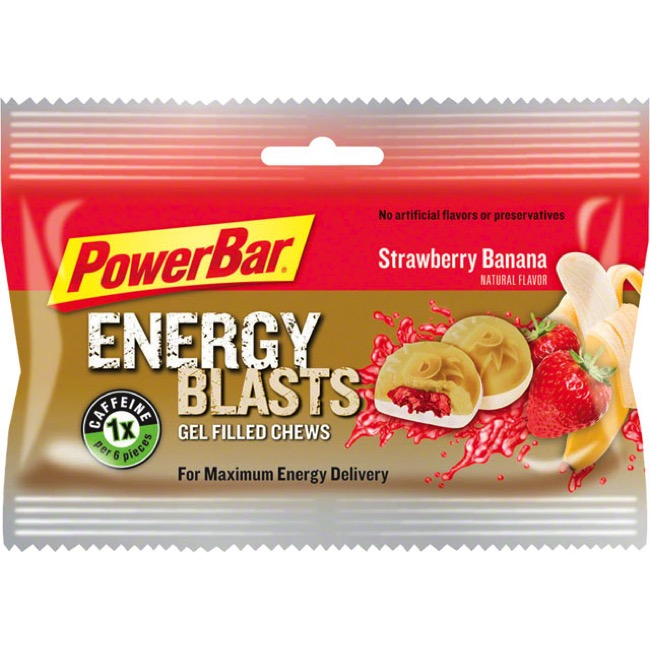 PowerBar Gel Blasts - Strawberry Banana (Box of 12)
