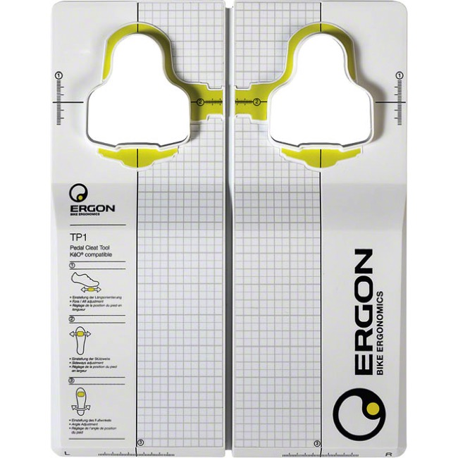 Ergon TP1 Cleat Fitting Tool - Look Keo