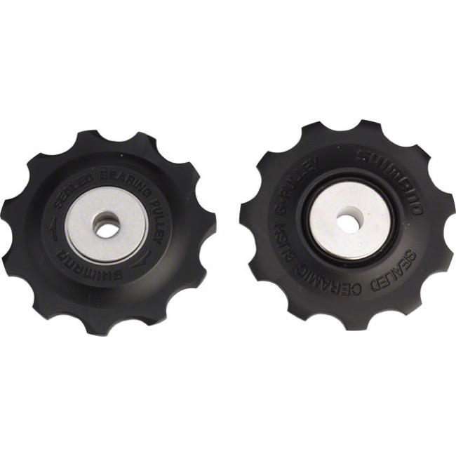 Shimano Upper and Lower Pulleys and Bolts - Ultegra 6700/6600 Pulley Set (Pair)