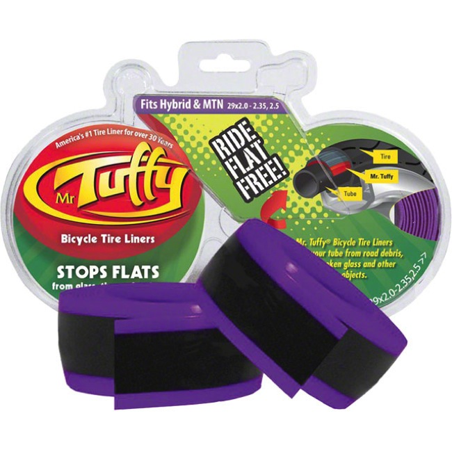 "Mr. Tuffy Original Anti Flat Tire Liners - 29 x 2.0-2.5"" (Purple)"