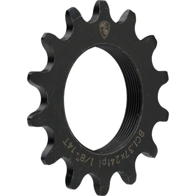 All-City Track Cogs - 15t (Black) CroMo