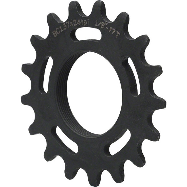 All-City Track Cogs - 17t (Black) CroMo