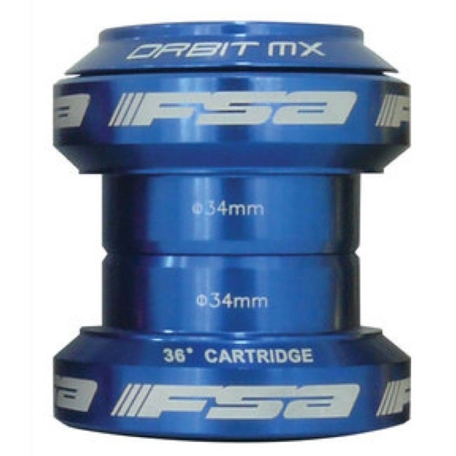 "FSA Orbit MX Headset - 1 1/8"" Threadless (Blue)"