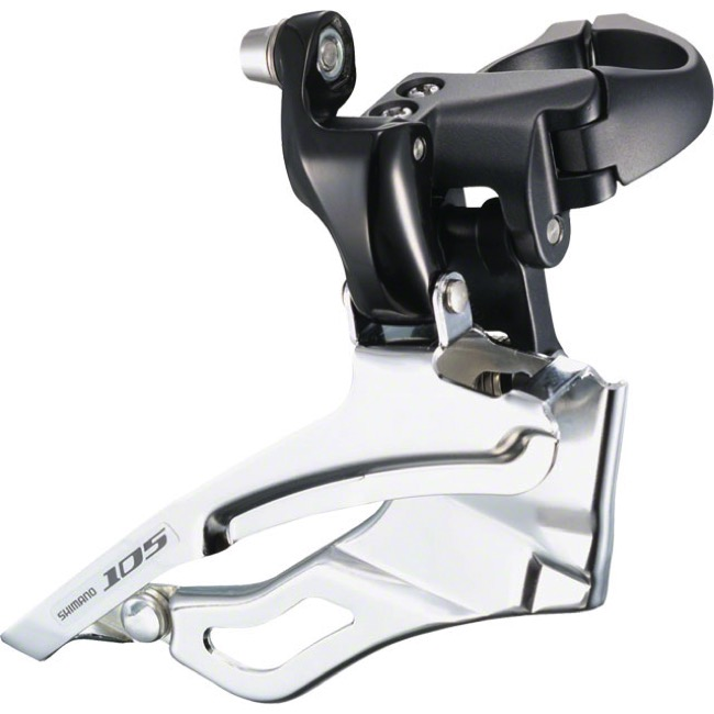 Shimano FD-5703 105 Triple Front Derailleur - 10 Speed - 35.0mm (Black)
