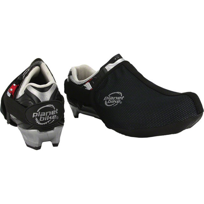 Planet Bike Dasher Toe Covers - Medium (Black)