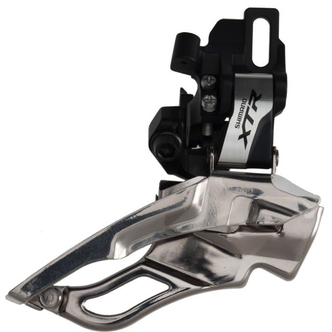 Shimano FD-M981 XTR Triple Direct Mount Derailleur - 3 x 10 Speed - Top/Bottom, Dual Pull (3 x 10)