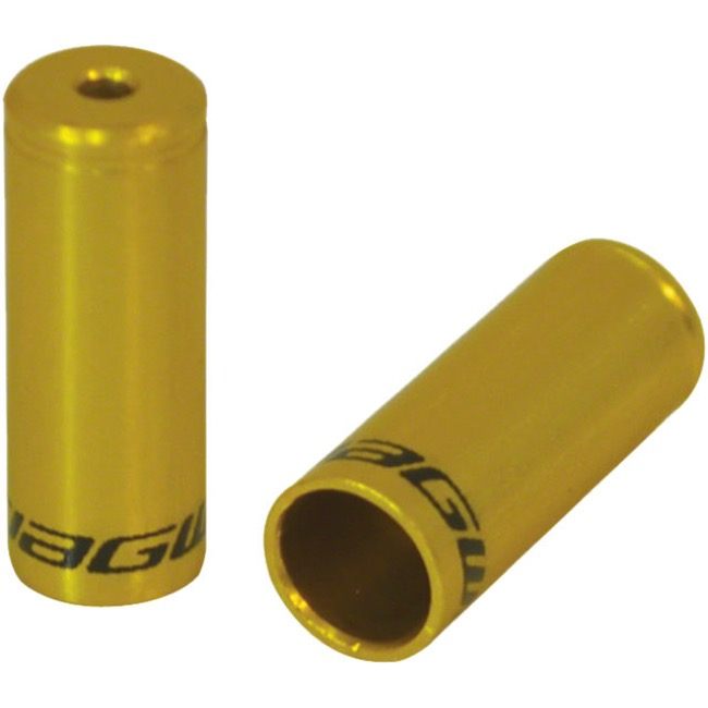 Jagwire End Cap Hop-Up Kits - Gold (4mm)