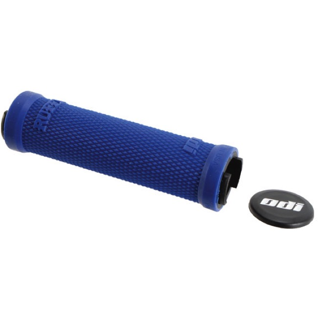 ODI Ruffian Lock-On Grips - Grips Only 130mm (Blue)