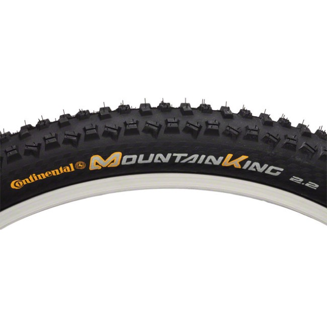 "Continental Mountain King ProTection 26"" Tire 2017 - Tubeless Ready! - 26 x 2.4"" (Folding Bead)"