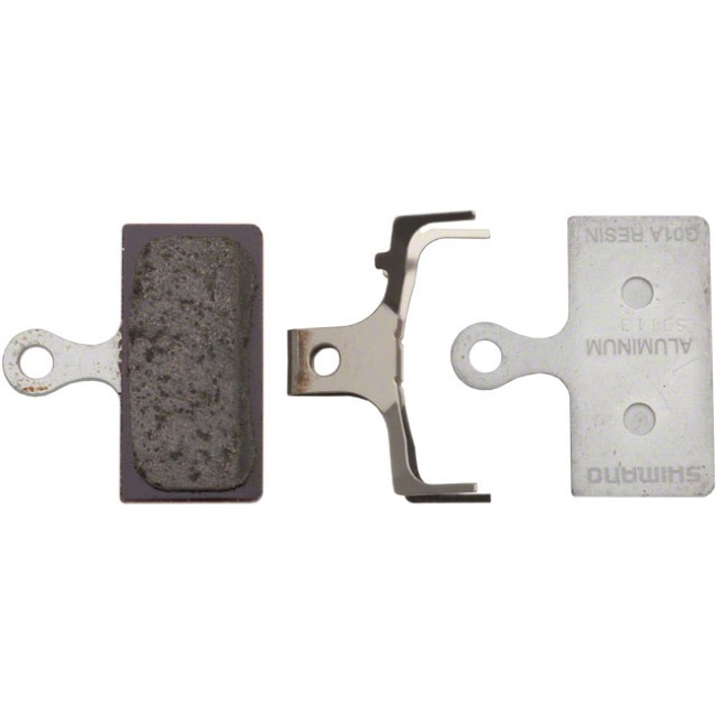 Shimano Disc Pads - G01A Resin/Alloy Back (XTR M985/988)