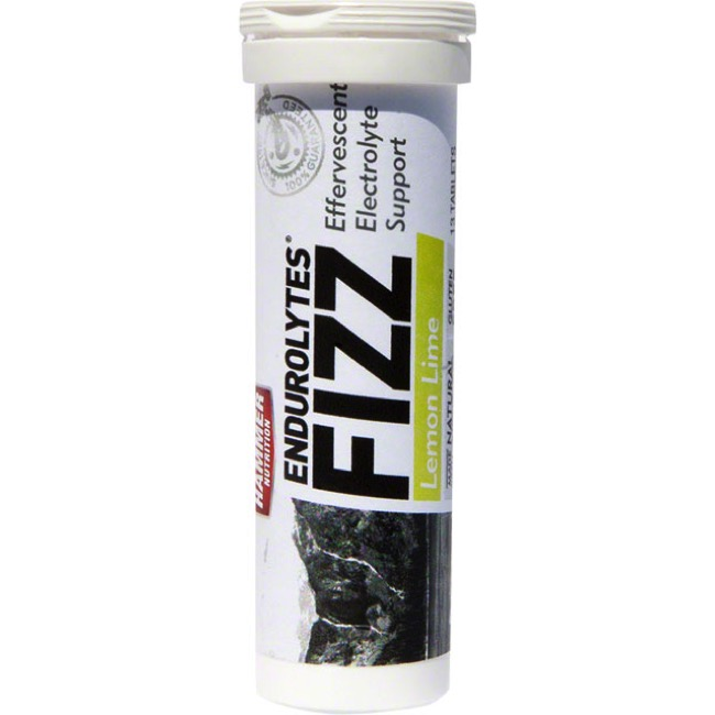 Hammer Endurolytes Fizz - Lemon Lime (Box of 12 Tubes)