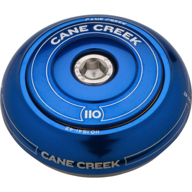 "Cane Creek 110-Series IS41 1 1/8"" Upper Assembly - 1 1/8"" Short (Blue)"