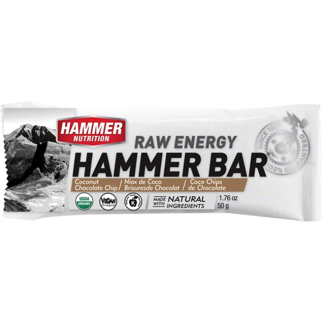 Hammer Bar - Coconut Cashew Chocolate (Single Serving)