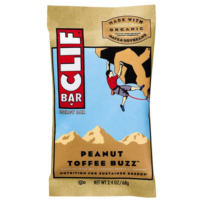 Clif Bar Original Bars - Peanut Toffee Buzz (Single Serving)