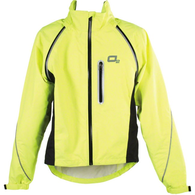 O2 Rainwear Nokomis Cycling Jacket - Yellow - Small (Yellow)