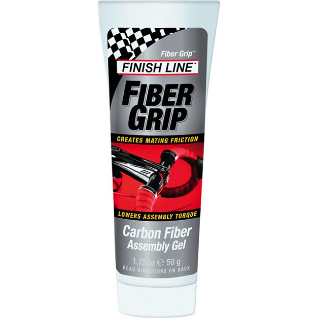 Finish Line Fiber Grip Carbon Assembly Gel - 1.75oz tube