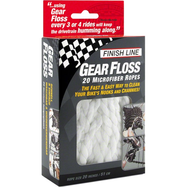 Finish Line Gear Floss Cleaning Rope - Gear Floss Cleaning Rope