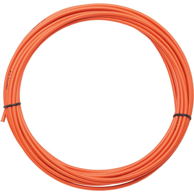 Jagwire Sport Brake Housing - 5mm x 25 Foot Roll (Orange)