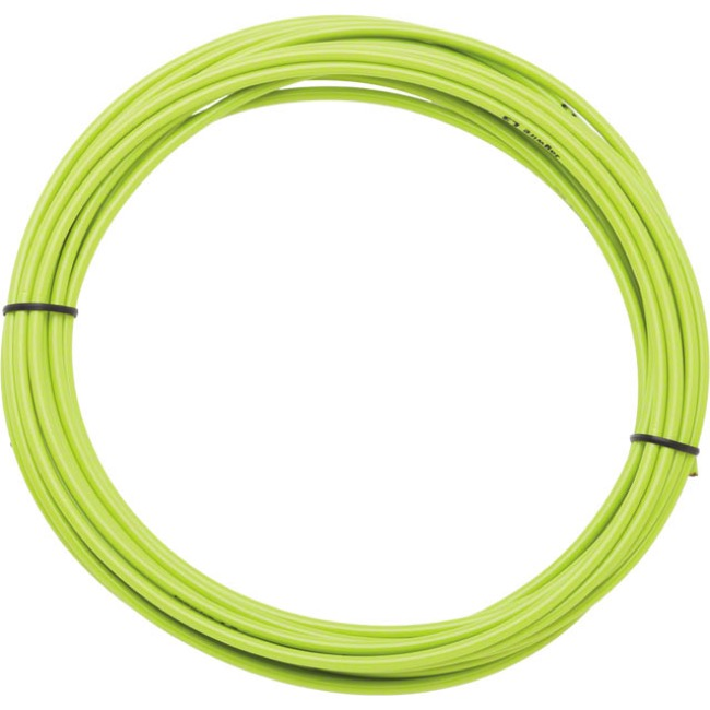 Jagwire Sport Brake Housing - 5mm x 25 Foot Roll (Organic Green)