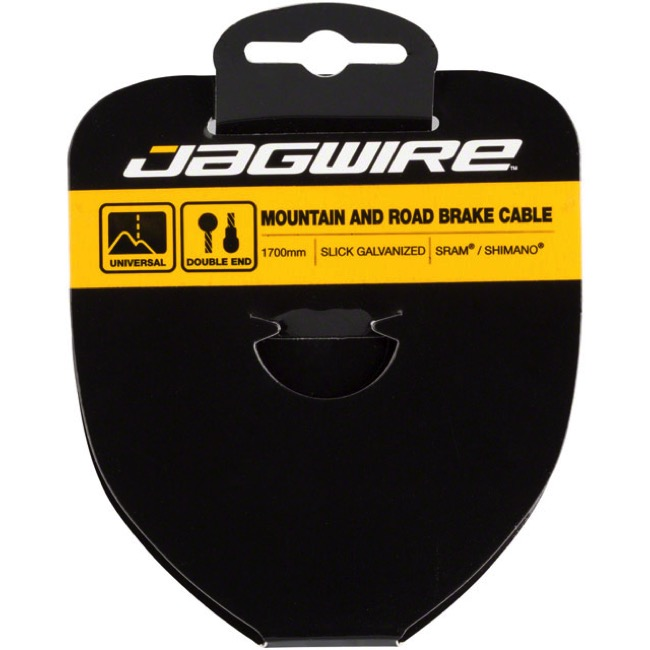 Jagwire Sport Slick Stainless Brake Cables - Shimano Extra Long 2750mm (Mountain & Road)