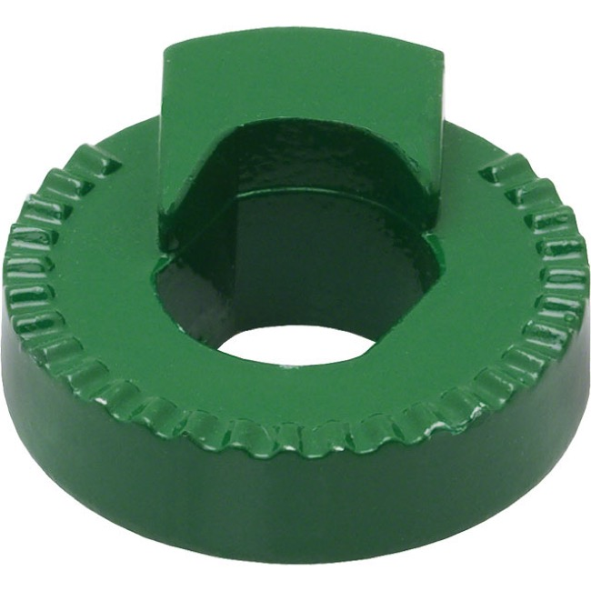 Shimano Alfine/Nexus Internal Gear Hub Parts - Vertical Dropout Left Non-turn Washer, 8L Green