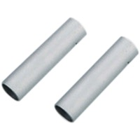 Jagwire Double-Ended Connecting Ferrule - 5mm (Silver) Bag of 10