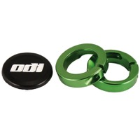 ODI Lock Jaw Clamps w/Snap Caps - Green