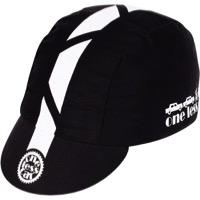 Pace Traditional One Less Car Cycling Cap - One Size Fits All (Black)