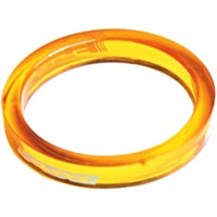 "FSA PolyCarbonate Headset Spacers - 1 1/8"" x 5mm Each (Orange)"