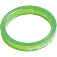 "FSA PolyCarbonate Headset Spacers - 1 1/8"" x 5mm Each (Green)"