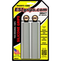 ESI Racers Edge Grips - Pair (Gray)