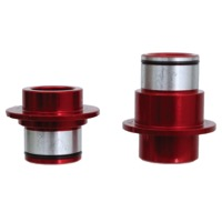 SunRingle Wheelset Hub Axle Conversion Kits - SRD/Pro, Front 15x100mm (Red)
