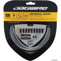 Jagwire Universal Sport Derailleur Cable/Housing - Braided White
