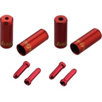 Jagwire End Cap Hop-Up Kits - Red (4.5mm)