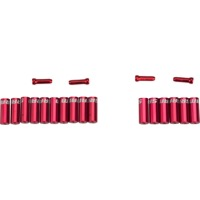 Sram Aluminum Ferrule Kit - Red