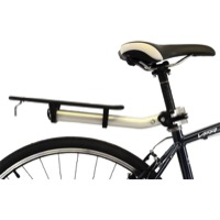 Axiom Flip Flop LX Seatpost Rack - Silver/Black