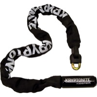 "Kryptonite Keeper Integrated Chain Lock - 21.6"", 33.5"", or 47.3"" - 33.5"" (Black)"
