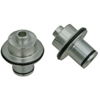 Stans Hub and Wheel Axle Conversion Kits - Front 9mm QR Axle Caps (Front, 3.30 / Crest/Arch)