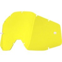 100% Goggles Replacement Lenses - Single Lens (Yellow)