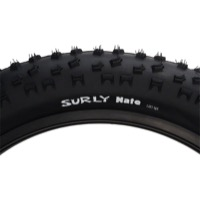 "Surly Nate Ultralight 26"" Fat Bike Tires - 26 x 3.8"", 120 TPI (Folding Bead)"