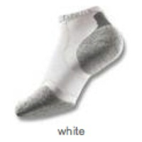 Thorlo Experia Micro-Mini Crew Socks - X-Small (White)