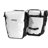 Ortlieb Back-Roller City Rear Panniers - White (Pair)